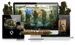 Versão mobile do Jungle Spirit: video slot Call of the Wild